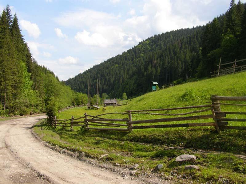 Велосипедный маршрут из Рахова