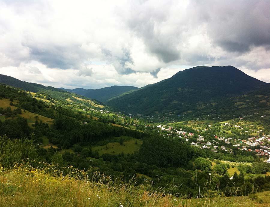 Поход на велосипедах к селу Косовская поляна