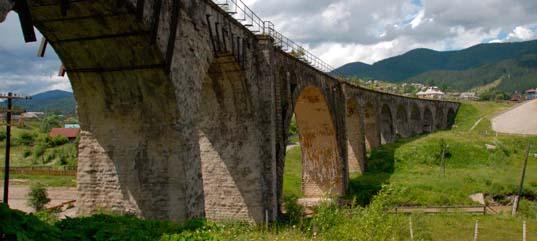 Железнодорожные каменные мосты Ворохты